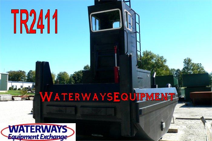 TR2411 - 300 HP TRUCKABLE PUSH BOAT