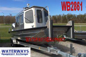 WB2861 - 24' ALUMINUM WORK BOAT