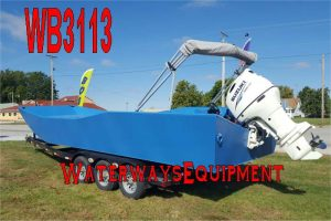 WB3113 - 200 HP WORK BOAT WITH TRAILER