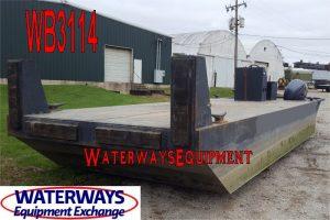 WB3114 - 400 HP WORK BOAT - USED