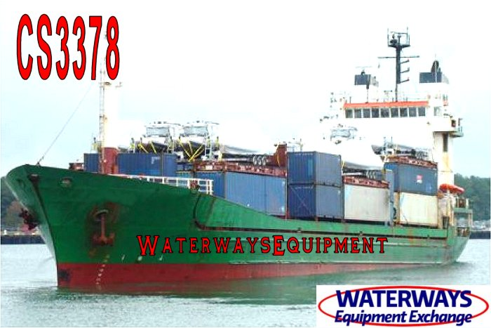 CS3378 - 300' CONTAINER SHIP