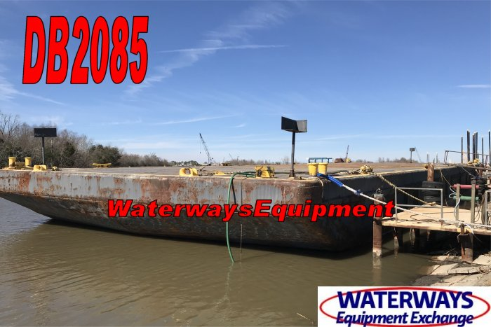 DB2085 - 160' x 54' x 12' DECK BARGE FOR SALE