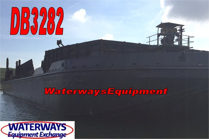 DB3282 - 300' x 80' x 18' ABS DECK BARGE