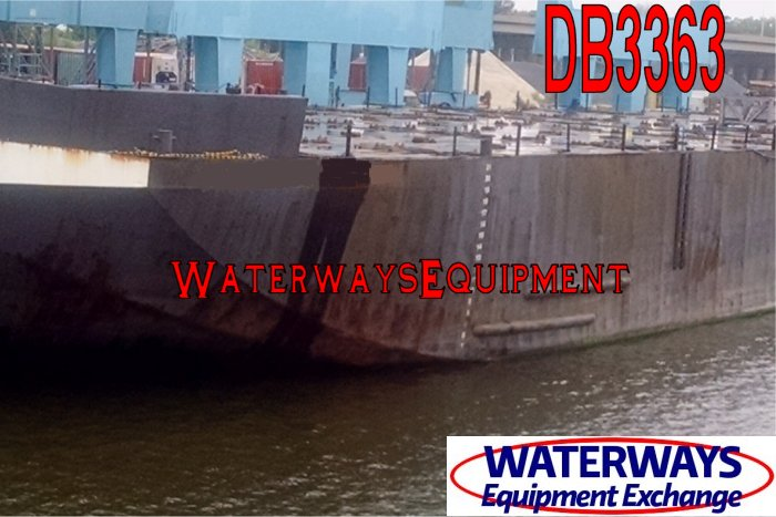 DB3363 - 310' x 80' ABS DECK BARGE