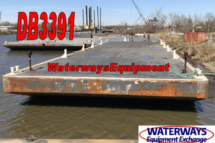 DB3391 - ABS DECK BARGE - 140' x 39' x 9'