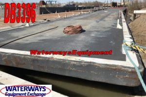 DB3396 - 120' x 30' x 7' DECK BARGE