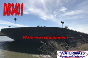 DB3401-1 - 260' x 80' DECK BARGE FOR CHARTER