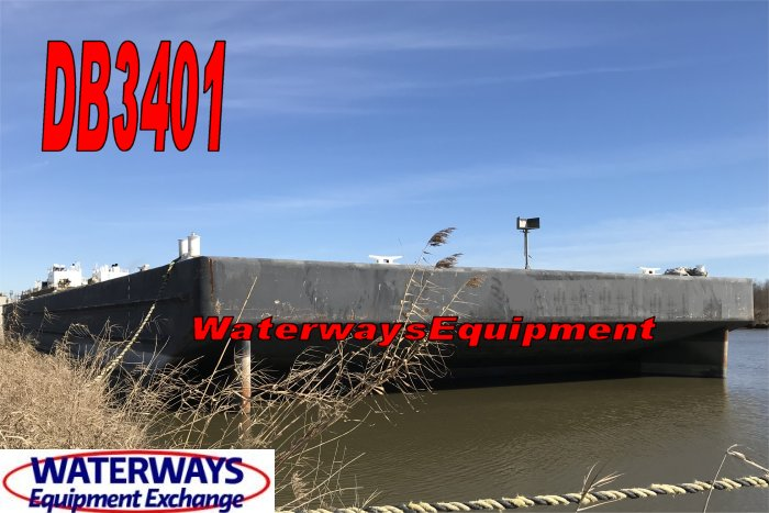 DB3401-2 - 260' x 80' DECK BARGE FOR CHARTER