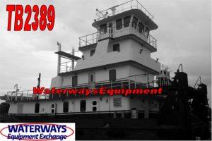 TB2389 - 1950 HP PUSH BOAT