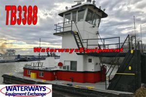 TB3388-2 - 450 HP PUSH BOAT
