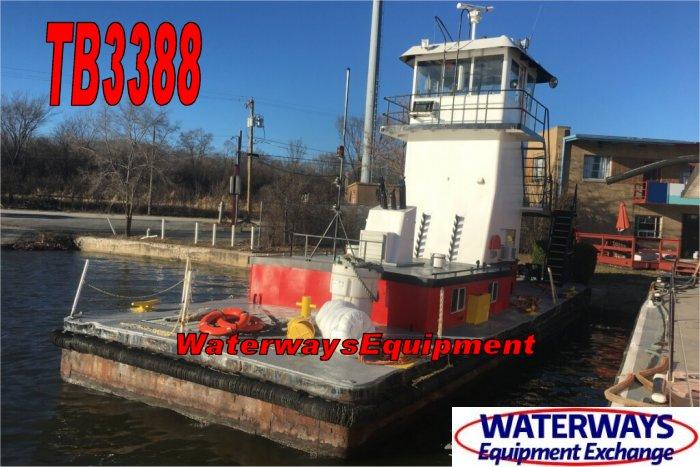 TB3388 - 450 HP PUSH BOAT