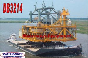 DB3214-A - 250' x 100' x 16' DECK BARGE