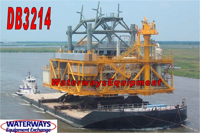 DB3214-A - 250' x 100' x 16' DECK BARGE