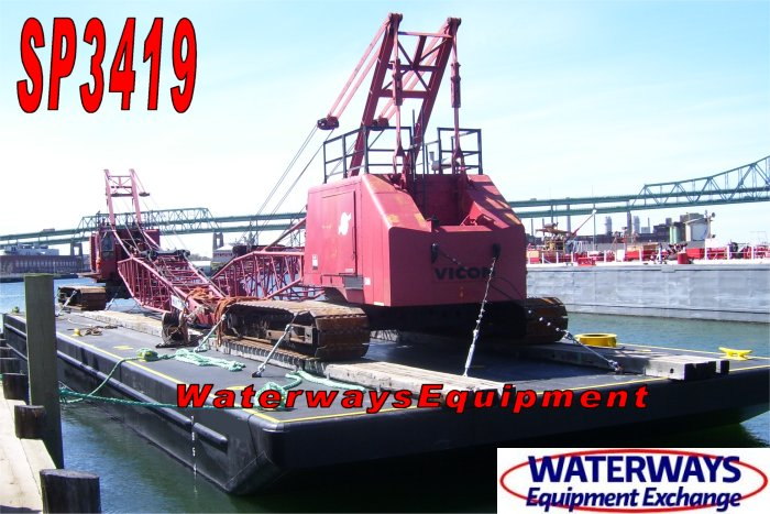 SP3419 - 140' x 40' x 9' SPUD BARGE