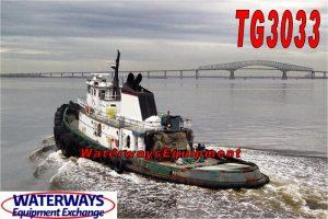 TG3033-A - 5760 HP OCEAN TUG