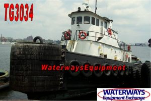 TG3034-A - 3600 HP MODEL BOW TUG