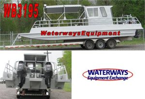 WB3195 - 300 HP ALUMINUM WORK BOAT