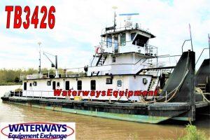 TB3426 - 1800 HP TOWBOAT