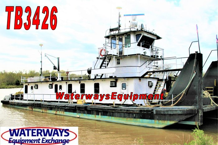 TB3426 - 1800 HP TOWBOAT