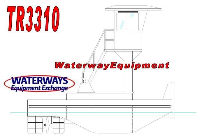TR3310 - NEW 660 HP TRUCKABLE PUSH BOAT