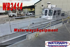 WB3414-A - USED 500 HP ALUMINUM WORK BOAT
