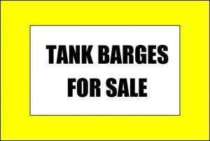 TANK BARGES FOR SALE