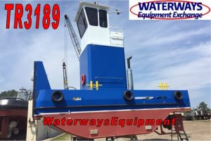 TR3189 – NEW 610 HP TRUCKABLE PUSH BOAT
