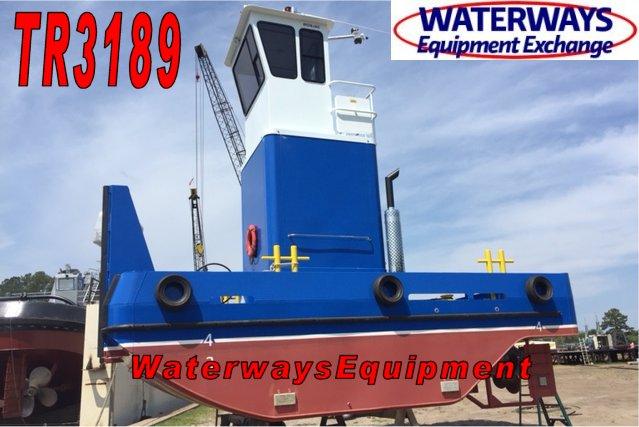 TR3189 – NEW 610 HP TRUCKABLE PUSH BOAT