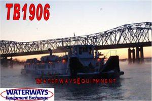 TB1906 - 4500 HP TOWBOAT