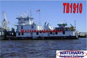 TB1910 - 2400 HP TOWBOAT