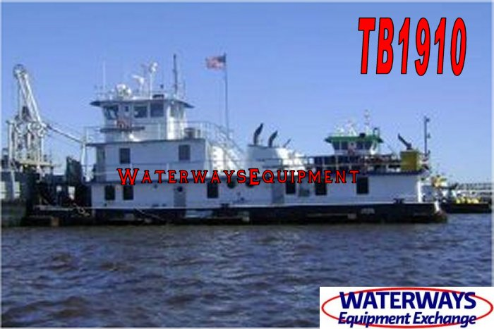 TB1910 - 2400 HP TOWBOAT