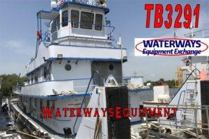 TB3291 - 2400 HP TOWBOAT