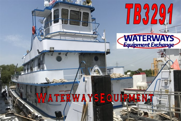 TB3291 - 2400 HP TOWBOAT
