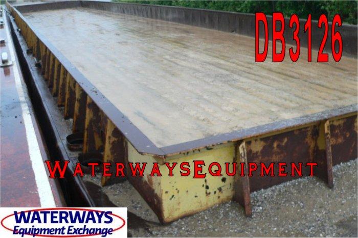 DB3126 - 195' x 35' x 9.5' DECK BARGES