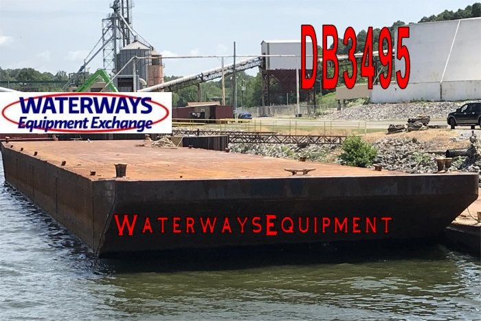 DB3495 - 195' x 35' x 10' DECK BARGE
