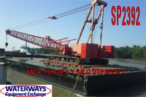 SP2392 - 150' x 60' x 10' ABS SPUD BARGE