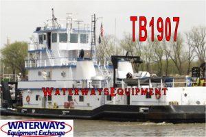 TB1907 - 4000 HP TOWBOAT
