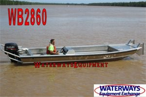 WB2860 - 20' x 5' SIDE CONSOLE WORK BOAT