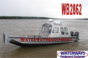 WB2862 – 24′ ALUMINUM WORK BOAT