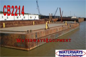 CB2214 - 140' x 48' x 9' ABS SPUD BARGE
