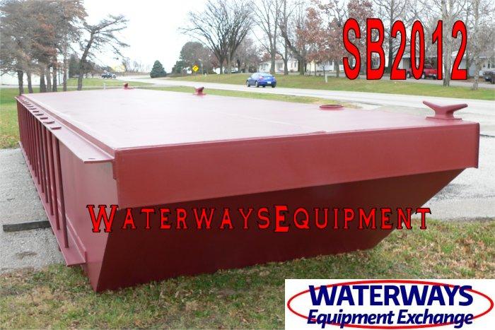 SB2012 - 36′ x 16′ x 4′ SECTIONAL SPUD BARGE