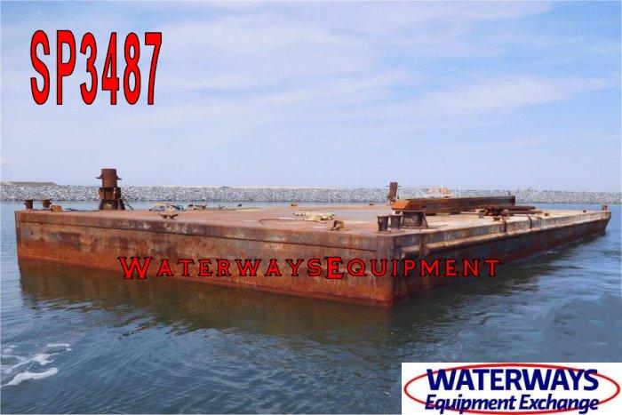 SP3487 – 120′ x 55′ x 7′ SPUD BARGE