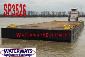 SP3526 - NEW 140' x 45' x 8' SPUD BARGE