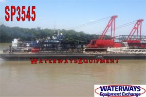 SP3545 - 160' x 60' x 10' ABS SPUD BARGE