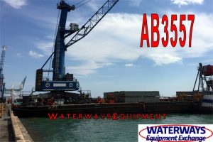 AB3557 - 260' x 72' x 16' ABS DECK BARGE