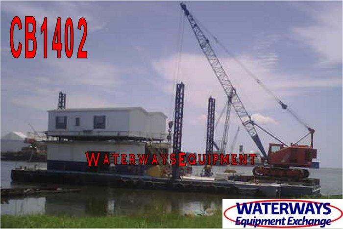 CB1402 - 130' x 34' x 7' INLAND SPUD BARGE