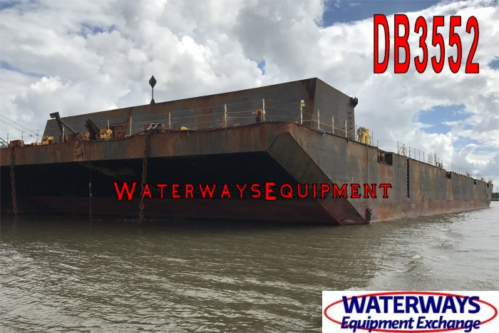 DB3552 - 330' x 100' x 20' ABS DECK BARGE