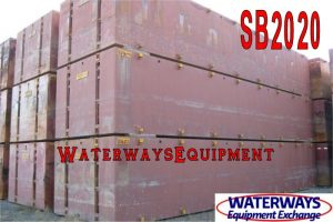 SB2020 - USED 40' x 10' x 7'® FLEXIFLOAT SECTIONAL BARGES