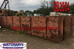 SB3554 - 40' x 10' x 5' POSEIDON® SECTIONAL BARGES