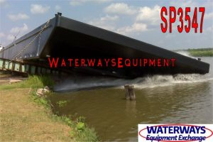 SP3547 - 140' x 54' x 9' ABS SPUD BARGE